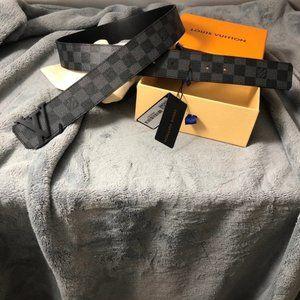 Louis Vuitton Black Damier Graphite